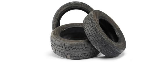Dejlig Brugte bildæk fra personbiler og varevogne | Indsamling XB-81