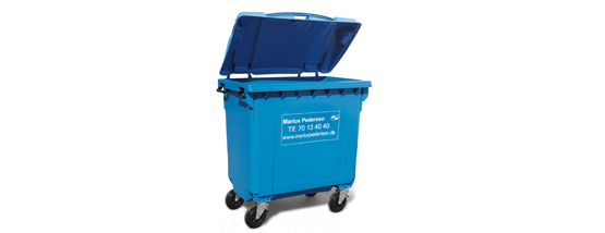 Minicontainer (4-hjul) standard container